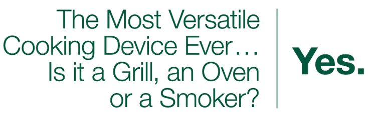 Smoker, Grill & Oven...Yes