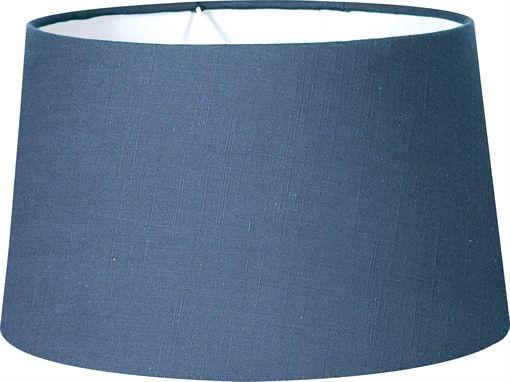 Neptune Lucile Blakeney Blue Linen Lampshade