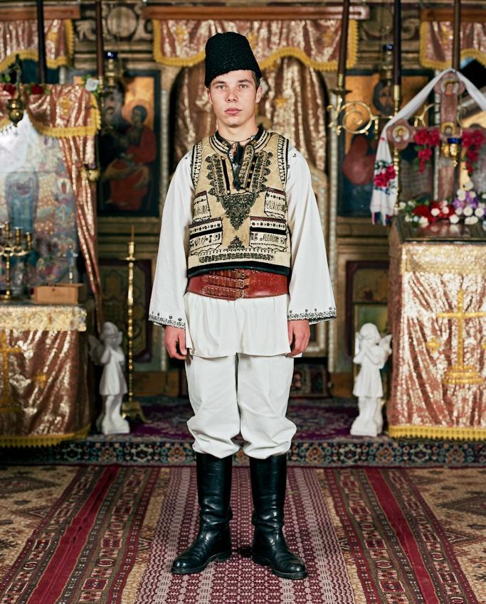 Menschen in Transsilvanien