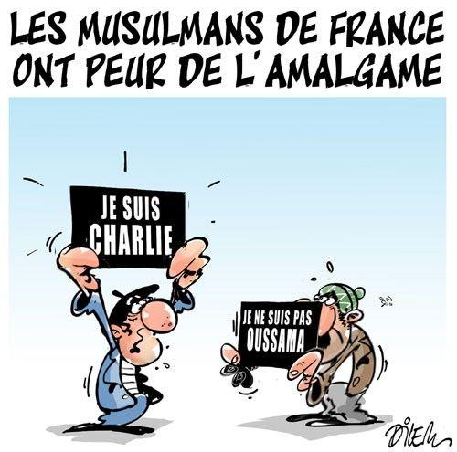 Caricature dilem du 12 janvier 2015 : Toute l'actualité sur liberte-algerie.com