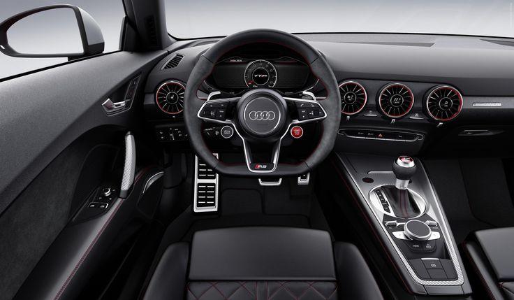2016 Audi TT RS Coupe  #Segment_S #German_brands #Audi #Audi_TT #Beijing_2016 #2016MY