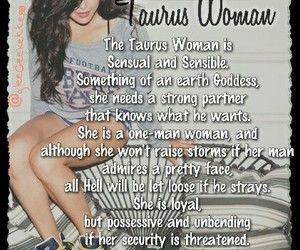 Taurus quotes ♉   by Leaxx05 on We Heart It