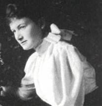 Agnes Baden-Powell -aged about 20.