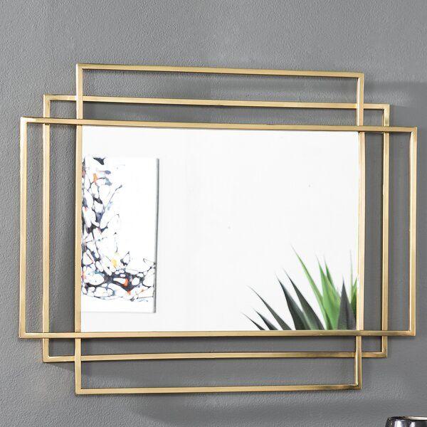 Mercer41 Heredia Modern And Contemporary Accent Mirror Wayfair Mirror Decor Living Room Mirror Design Wall Mirror Wall Decor