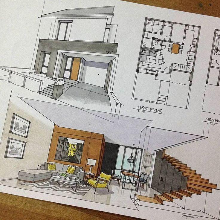 Consulta esta foto de Instagram de @sketch_architect • 3,233 Me gusta
