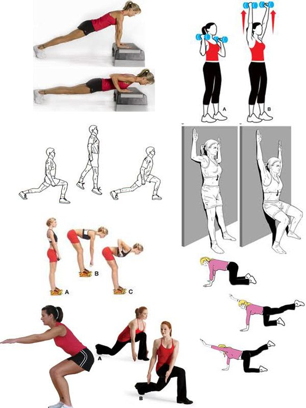 pear shaped body exercises