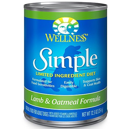 Wellness Simple Natural Wet Canned Limited Ingredient Dog Food, Lamb  #DogFood