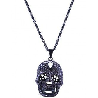 Omega Deals,ketting, collier, halsketting,kraag ketting, skull ketting,stoere ketting, strass ketting,sieraden online kopen,kralen ketting,trendy sieraden