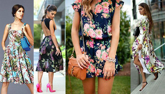 Jak nosić kwieciste sukienki