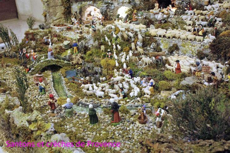 Site sur les santons de Provence et les crèches. Pour tous les amoureux des santons  et des crèches