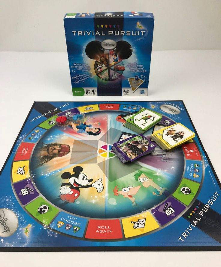 TRIVIAL PURSUIT DISNEY FOR ALL BOARD GAME Replacement Parts Pieces Cards Tokens #MiltonBradley