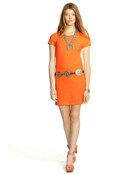 Cotton Tee Dress - Polo Ralph Lauren Sale - RalphLauren.com