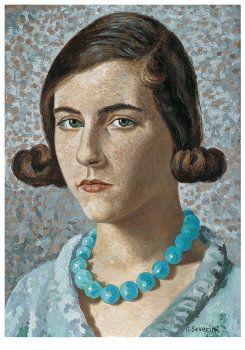 Portrait of artist's daughter, 1931 Gino Severini.