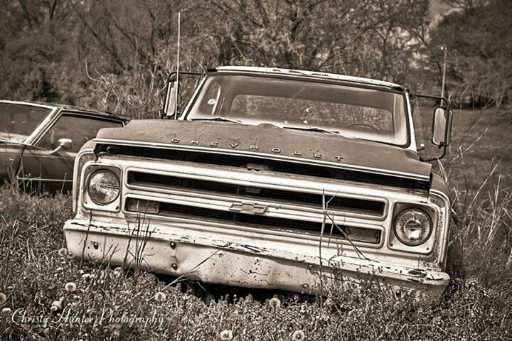 Old Chevy truck.
