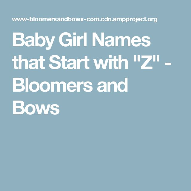 Baby Girl Names That Start With J Bloomers And Bows