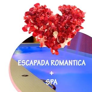 ESCAPADA ROMANTICA CON SPA: Romántica experiencia de una o dos noches con circuito de Spa privado. Con detalle de Bienvenida y Cena para dos personas.