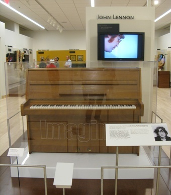 A John Lennon piano at the Musical Instrument Museum. (From: Photos: 16 Best Summer Attractions for Families)