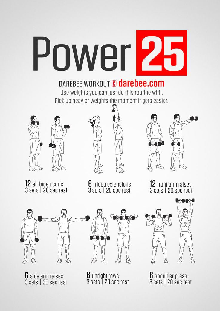 Power 25 Workout