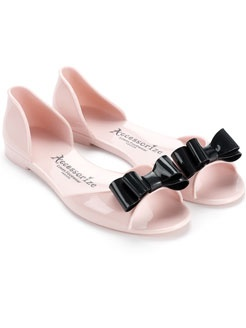 BOW PEEP JELLY SHOES