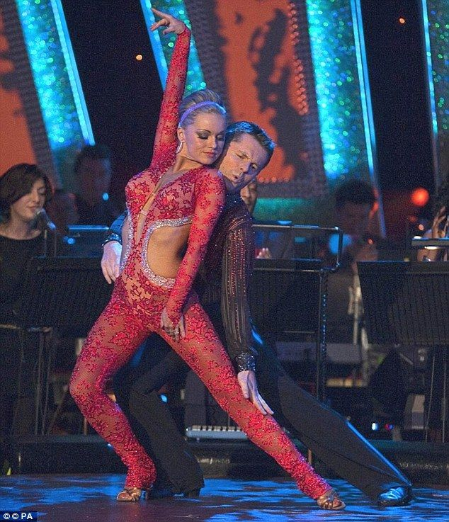 'After a while they stopped me': Ola Jordan claims that BBC bosses were more concerned with her wardrobe than her dancing, as she was banned from wearing her catsuits on the show because they 'were too sexy'