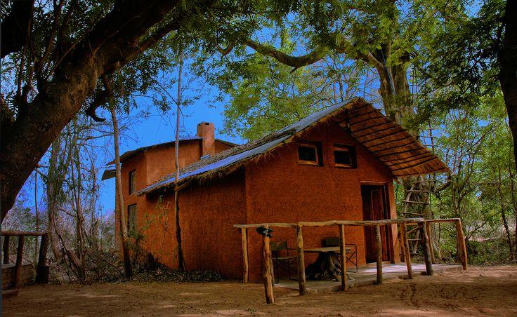 A Village style hut at Panna - Ken River Lodge