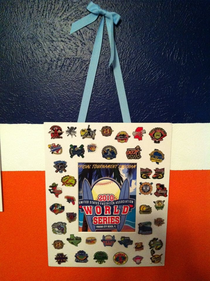 Another Trading Pin Display Idea Gift Exchange