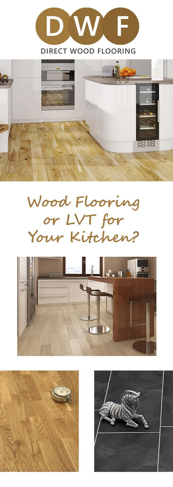If you're re-flooring your kitchen and not sure what to choose, we've got the perfect guide for you. We've compared the benefits and drawbacks of using Wood Flooring or Luxury Vinyl Tiles in your kitchen.  As we're the flooring specialists, we thought it would only be fair to take out the guesswork and help you decide which is best for you!  Read the blog on our website: https://www.directwoodflooring.co.uk/dwfblog/wood-flooring-luxury-vinyl-tiles-kitchen  #WoodFlooring #EngineeredWood #LVT…