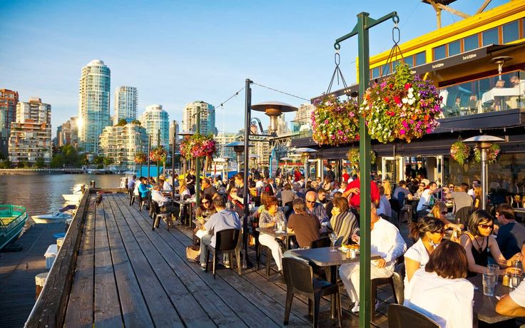 Once an industrial manufacturing area, Vancouver's Granville Island is now full of artisan workshops, studios, and the most popular farmers' market in British Columbia.