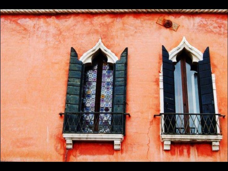 Windows in Venice, Italy