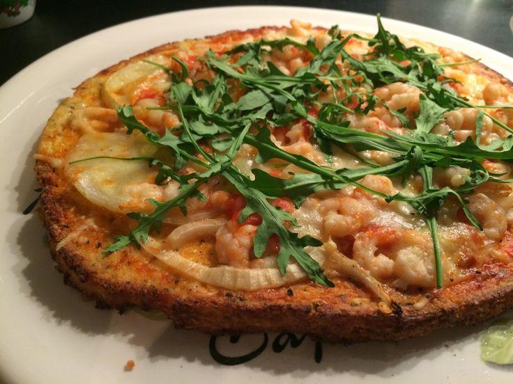 Paleo-garnalen-pizza