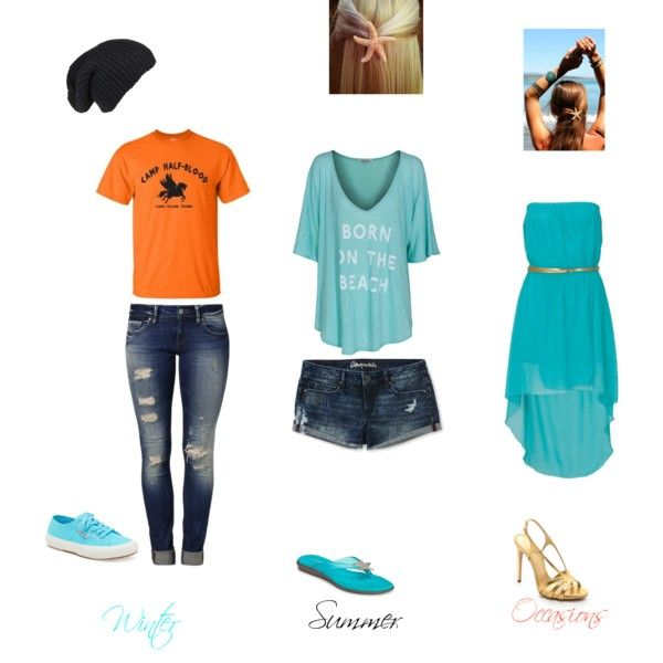 """Daughter of Poseidon"" by sweetniknak on Polyvore"