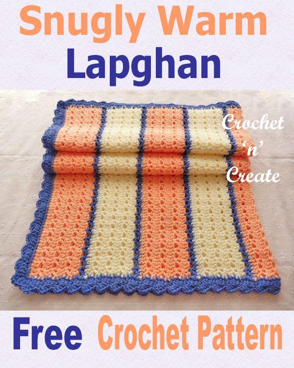 Free Crochet Pattern Snugly Warm Lapghan Crochet Crochet