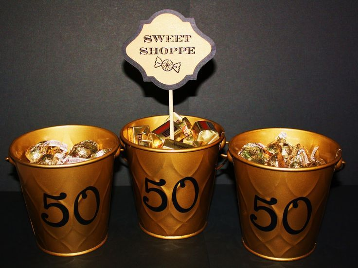 50th wedding anniversary decorations for sale