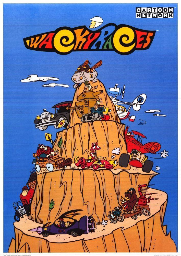 Boomerang Make and Race: fun cartoon racing game! Tweety ... |Wacky Racers Cartoon