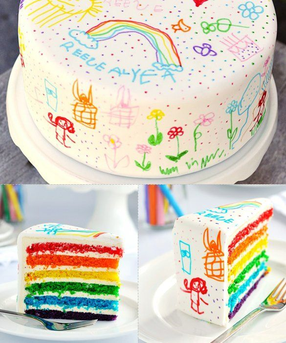 50 Amazing And Easy Kids Cakes Find A Birthday Cake