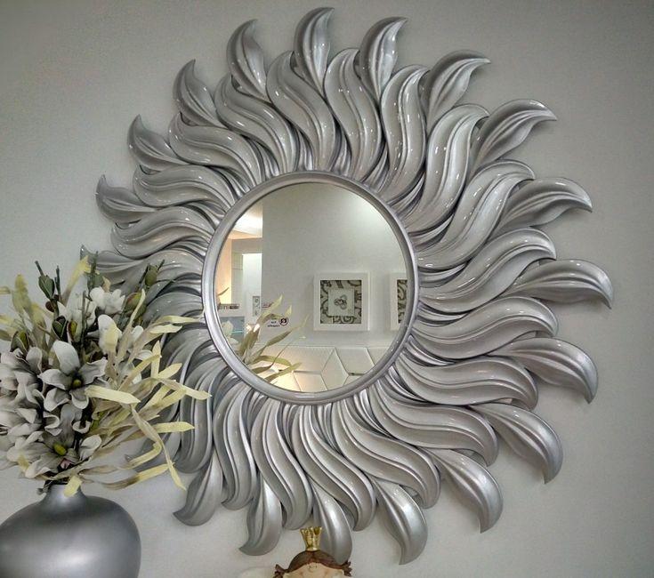Espelho sol 137 cm deametro