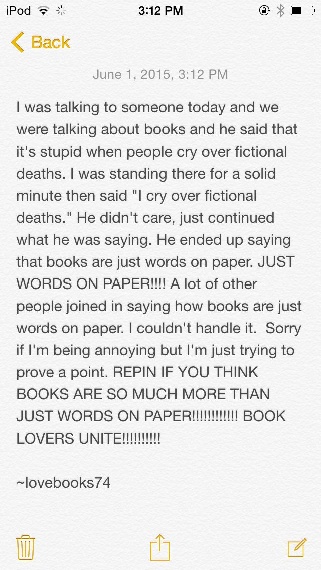 Please prove that books are more than just words on paper!!!!