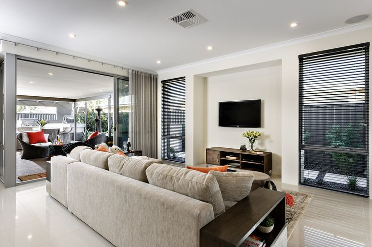 Living - Aspire Display Home - Homebuyers Centre - Aveley, WA Australia