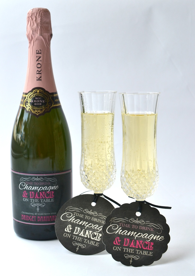 Cheers! Fun ways to use gift tags and stickers to perfect any occasion - www.macaroon.co