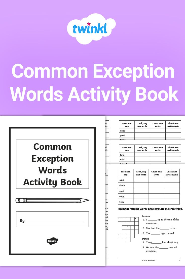 More Year 2 Common Exception Words Practice Activity Booklet Word Activities Word Practice Guided Reading Activities [ 1110 x 735 Pixel ]