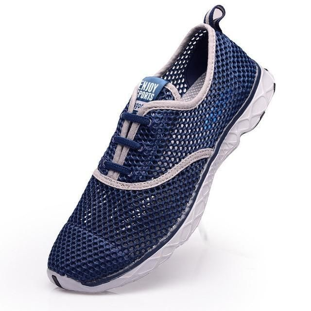 Plus Size Men Summer Running Shoes Women Sneakers 2017 Mesh Breathable Sport Shoes Men Beach Water Shoes Womens Trainers Socone