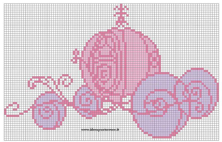 CINDERELLA'S CAB by syra1974 on deviantART Free Cross Stitch Pattern Chart