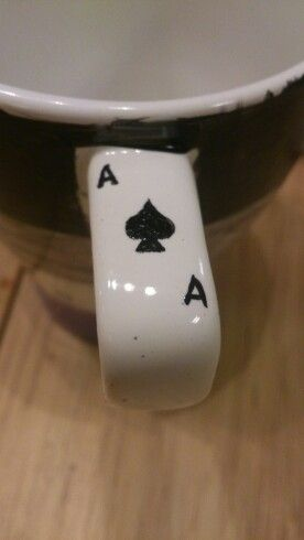 Asexual mug handle