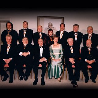 1998 Artistic Director Emeritus Arnold Sphor receives the Governor General's Performing Arts Award at Rideau Hall ceremony and nationally te...