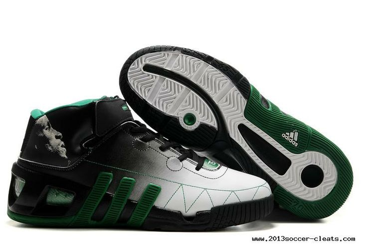 Adidas shoes NBA Kevin Garnett VI Basketball shoes Black White For  Wholesale. Find this Pin and more on Nike soccer ...