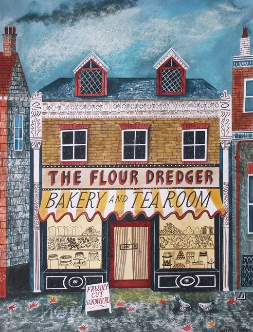 the flour dredger - Emily Sutton