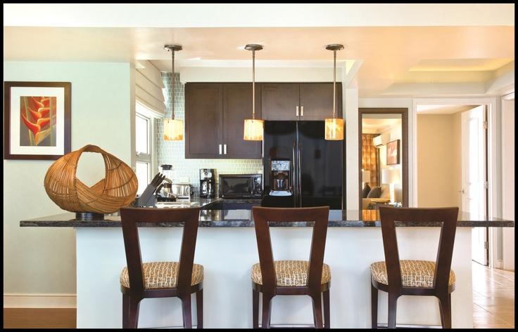Modern kitchen styling...in your timeshare villa