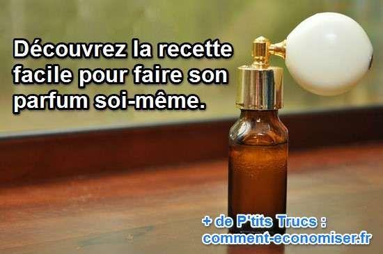 Vous cherchez une alternative naturelle pour vous parfumer ? Alors cette recette est faite pour vous !  Découvrez l'astuce ici : http://www.comment-economiser.fr/la-recette-facile-du-parfum-fait-maison.html?utm_content=bufferb59f6&utm_medium=social&utm_source=pinterest.com&utm_campaign=buffer