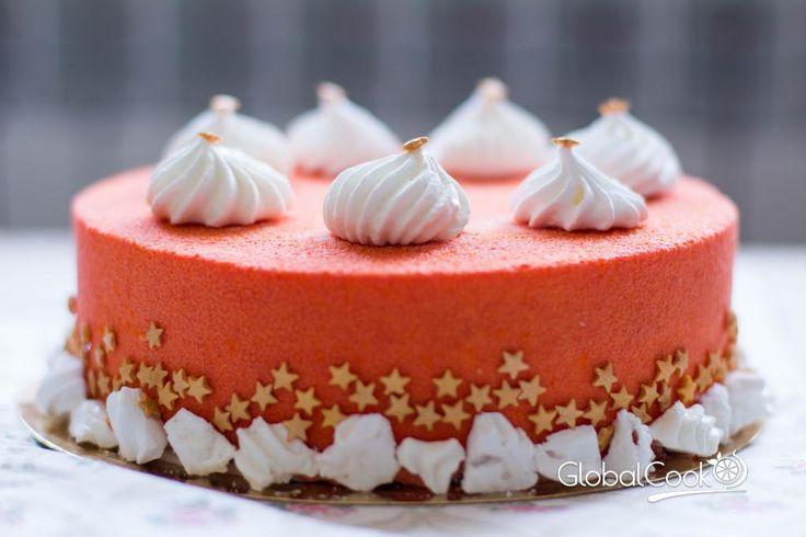 """Муссовый морковный торт """"Тропическое искушение"""" - Кулинары мира о вкусной и красивой еде"""