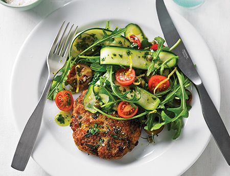 Make these Chicken Burgers in advance and enjoy later, hot or cold, with a side salad or steamed vegetables.